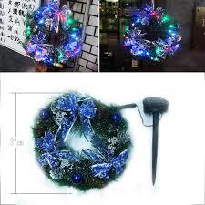 kmmart rakuten global market solar 30 lights wreath