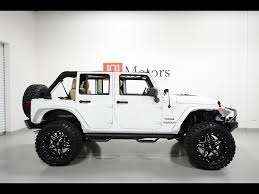 jeep custom black finest white jeep wrangler for sale from custom lifted jeep