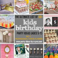 kids party ideas kid birthday party ideas ideas by a professional party planner