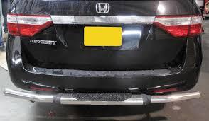 honda odyssey rear bumper broadfeet rear bumper guard pipe fits 2004 2017 honda