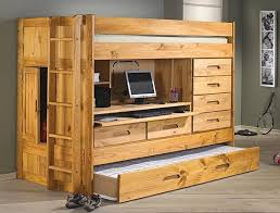 Twin Bunk Bed With Desk And Drawers 16 Best Loft Bed With Dresser Desk Images On Pinterest Bunk Bed