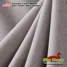 linen wholesale fabric made in the usa vintage blend dove grey