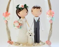 Wedding Toppers Custom Wedding Cake Toppers U0026 Happy Handmade By Lollipopworkshop