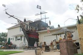 Outdoor Decorations For Halloween That You Can Make by Pirate Halloween Decorations Homemade Decorations Elegant