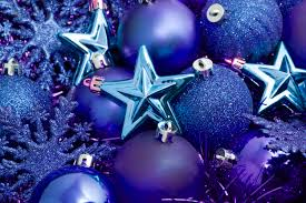 christmas decorations blue ideas decorating
