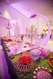 indian version of a dessert table my big fat indian wedding