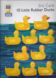 10 little rubber ducks kindergarten nana