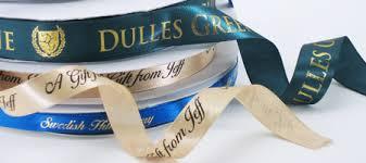 personalized ribbon printing single satin custom ribbon rolls