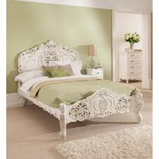 Antique Style Bed Frame Antique Style Rococo Homesdirect365 Wooden Frames Retro