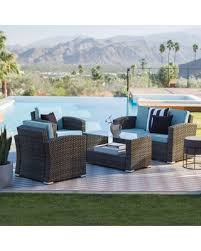 Wicker Patio Conversation Sets Check Out These Cyber Monday Deals On Outdoor Coral Coast Dursey