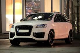 Audi Q7 Gold - audi tuned q7 v12 diesel with 550hp from anderson germany