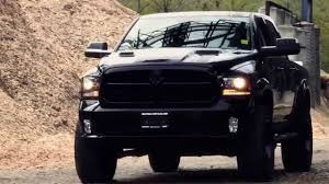 dodge blackout truck lifted dodge ram 1500 mopar kelowna the reaper kcd customs