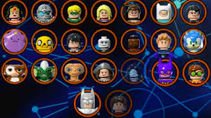 lego dimensions all characters wave 1 7 5 all spotlights