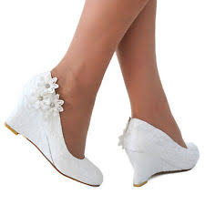 Wedding Shoes Mid Heel Mid Heel 1 5 3 In Bridal Shoes Ebay