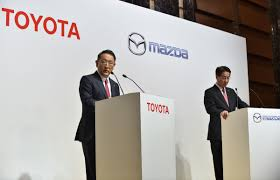mazda corp toyota mazda plan 1 6 billion u s plant will partner on