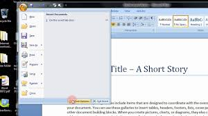 how to enable or show the developers tab in microsoft word 2007 a