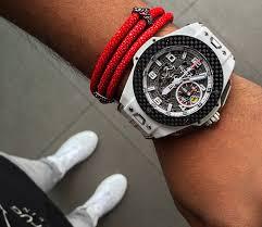 luxury man bracelet images 2018 luxury quality 100 real stingray men bracelet for watch lover jpg