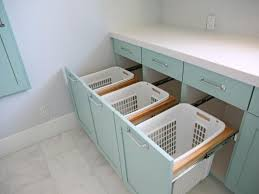 laundry cabinet with hanging rod wonderful home design