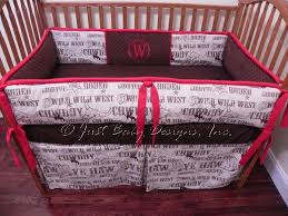 cowboy nursery bedding custom crib bedding cowboy rodeo babybedding