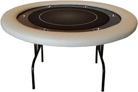 poker table with folding legs deluxe round poker table with folding legs thebestpokersite com