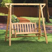 Diy Wood Garden Chair by Diy Wooden Swing Set Plans Free Building Refinishing Diy