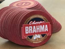 Muito Bolacha de Chopp BRAHMA - Parceiro AMBEV - Porta Copos e Bolacha  #FC69