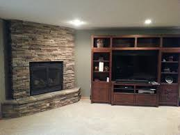 amazing how to reface a fireplace with stone home decor interior