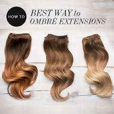 ombre extensions how to dye your extensions ombre frontrow