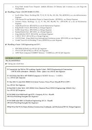Sample Resume Mechanical Engineer by Download Plumbing Engineer Sample Resume Haadyaooverbayresort Com