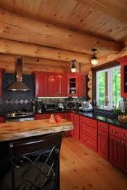 Log Cabin Kitchen Cabinets by Revamp Your Kitchen With Home Depot Creative Log Cabin Homes