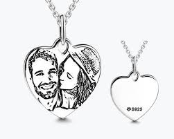photo engraved necklace 10 best colliers images on collars jewelry and