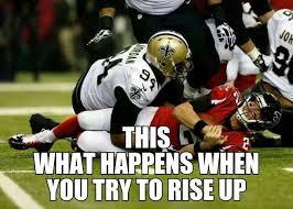 Saints Falcons Memes - new orleans saints beat the atlanta falcons wd4l louisiana my