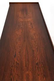 Rosewood Laminate Flooring Danish Rosewood Veneer Credenza With Tambour Doors By Ib Kofod