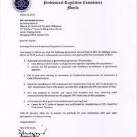 bulletin cpd update prc humingi ng paumanhin cpd held in