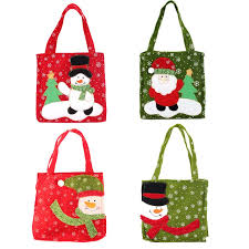 christmas gift bags new santa claus gift bags merry christmas candy bags snowflake