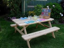 picnic tables easy home concepts