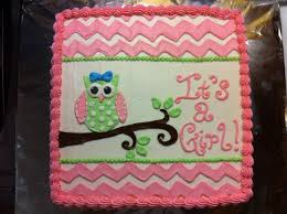 owl baby shower cake pink chevron and owl baby shower cake cakes by meridyth