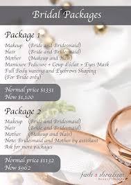 wedding makeup packages fadi ibrahim wedding