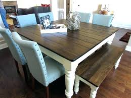 chairs to go with farmhouse table farmhouse table bench farmhouse table and bench table with bench and