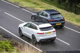 jaguar xf czy lexus gs jaguar f pace vs porsche macan luxury suvs compared autocar
