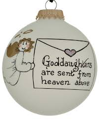 goddaughter ornament goddaughter personalized ornament