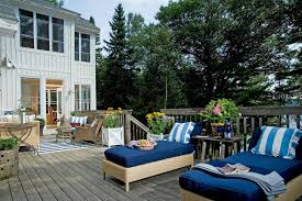 design ideas beautiful deck designs with balcony and chaise