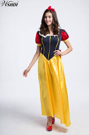 snow white halloween costume online get cheap snow white costume adults aliexpress com