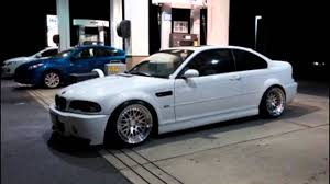 bmw m3 stanced e46 m3 alpine white ccw classics slammed youtube