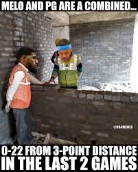 Paul George Memes - nba memes paul george and carmelo anthony in a nutshell facebook