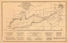 map of lake geneva wi wisconsin geological history survey hydrographic map