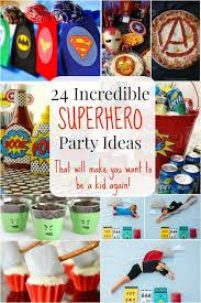 Birthday Decoration Ideas For Kids At Home Best 25 Superhero Party Ideas On Pinterest Superhero