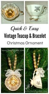 vintage repurposed teacup ornament thrifty rebel vintage