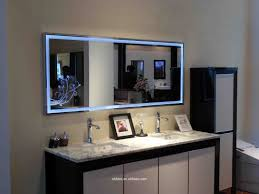 light up wall mirror particular with lighted bathroom mirror wall mount bathrooms design