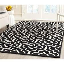 6x9 Wool Area Rugs Home Kaleidoscope Area Rug Black Grey 4 X 6 Medium